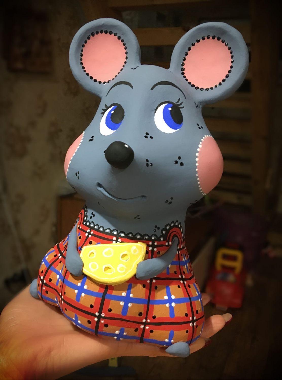 Мышка-копилка, Копилки, Ветлуга,  Фото №1
