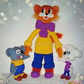 Куклы и игрушки ручной работы. Ярмарка Мастеров - ручная работа Кот Леопольд и мыши. Handmade.