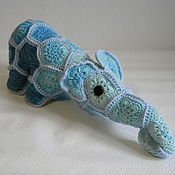 Куклы и игрушки ручной работы. Ярмарка Мастеров - ручная работа Слон Кузя. Handmade.