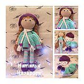 Куклы и игрушки ручной работы. Ярмарка Мастеров - ручная работа Кукла Дина. Handmade.