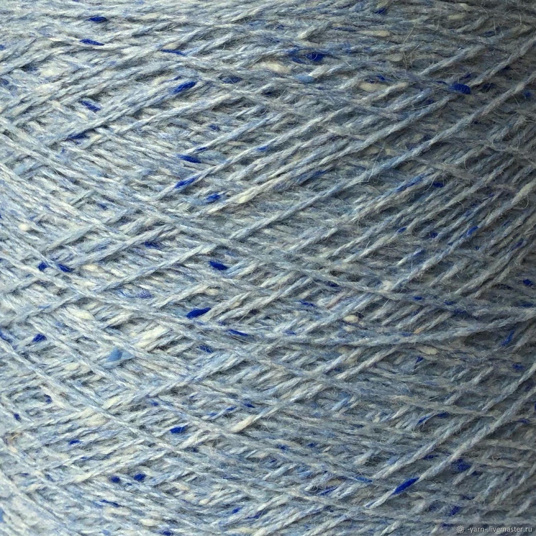 Пряжа твид шерсть кашемир шелк альпака HAWK голубой – купить на Ярмарке Мастеров – O3HVYRU | Пряжа, Санкт-Петербург