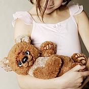 Куклы и игрушки ручной работы. Ярмарка Мастеров - ручная работа Junior. Младший. Мишка.  Коллекционный медведь тедди.. Handmade.