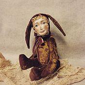 Куклы и игрушки ручной работы. Ярмарка Мастеров - ручная работа Авторская кукла тедди долл Аришенька. Handmade.