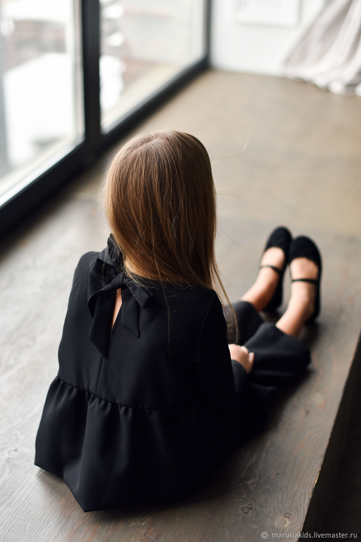 Блуза черного цвета