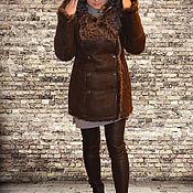 Одежда ручной работы. Ярмарка Мастеров - ручная работа Дубленка из меха барашка. Handmade.