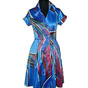 Одежда ручной работы. Ярмарка Мастеров - ручная работа Платье-халат. Handmade.