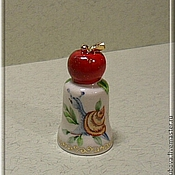 "Model handmade. Livemaster - original item Author sculpt thimble ""Apple"". Handmade."
