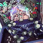 Куклы и игрушки handmade. Livemaster - original item Suitcase Tales Of Mother Goose. Handmade.