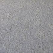 Материалы для творчества ручной работы. Ярмарка Мастеров - ручная работа Ткань пальтовая 03801  итальянский драп с объемными цветами. Handmade.