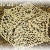 Для дома и интерьера ручной работы. Ярмарка Мастеров - ручная работа Салфетка шестиугольная. Handmade.