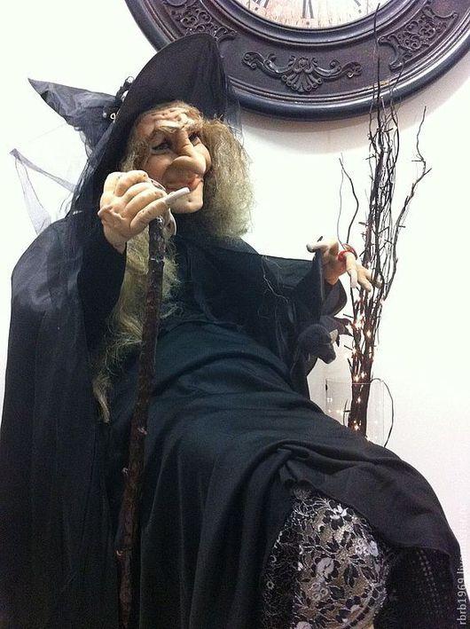 """Портретные куклы ручной работы. Ярмарка Мастеров - ручная работа. Купить Ростовая кукла """"Один день из жизни ведьм""""продано. Handmade."""