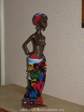 Коллекционные куклы ручной работы. Ярмарка Мастеров - ручная работа. Купить Нджабула. Handmade. Интерьерная кукла, счастье