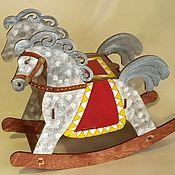 Для дома и интерьера ручной работы. Ярмарка Мастеров - ручная работа лошадка качалка. Handmade.