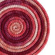Украшения ручной работы. Ярмарка Мастеров - ручная работа Украшение на шею Lasso Rose вязаное колье шарф бусы. Handmade.
