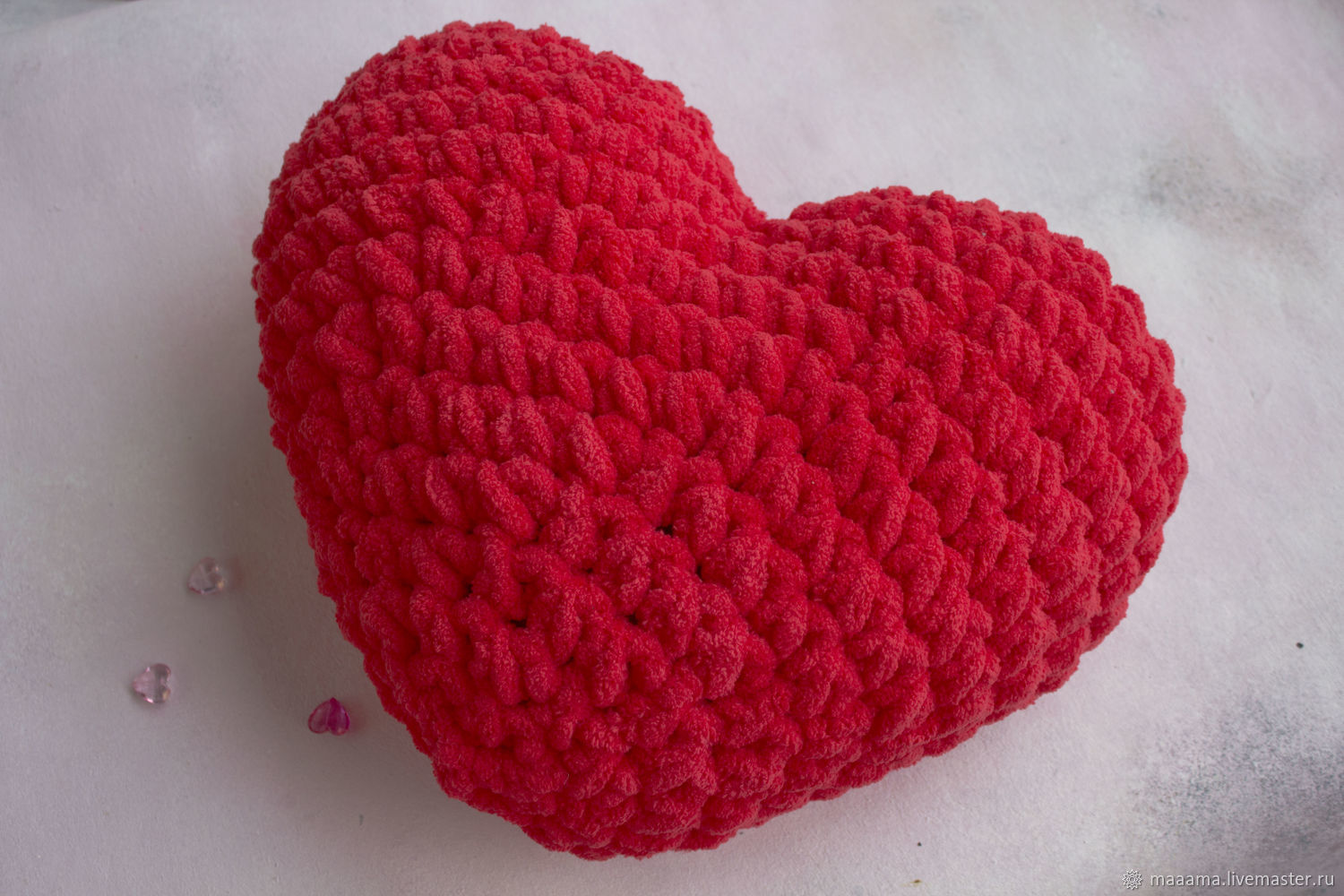 Heart pillows for Valentine's Day (available and custom-made), Gifts for February 14, St. Petersburg,  Фото №1