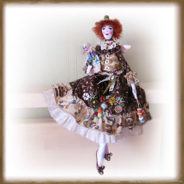Dolls & toys. Livemaster - original item Sewing fairy. Handmade.