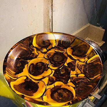 Посуда ручной работы. Ярмарка Мастеров - ручная работа Тарелки: салатник. Handmade.