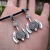 Украшения handmade. Livemaster - original item Axe sign Star of Russia. Silver 925 art.1011002. Handmade.