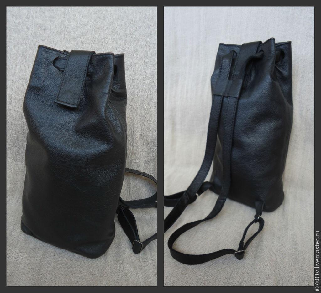 Backpack leather art.1-313, Classic Bag, Jelgava,  Фото №1