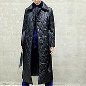 Одежда handmade. Livemaster - original item Women`s insulated coat BronX. Handmade.