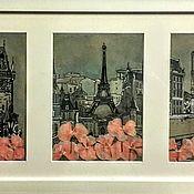Картины и панно ручной работы. Ярмарка Мастеров - ручная работа Париж, Париж!... Handmade.