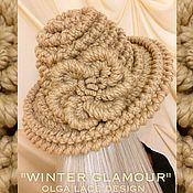 Аксессуары handmade. Livemaster - original item Winter hat