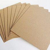 Бумага ручной работы. Ярмарка Мастеров - ручная работа Крафт-бумага А3. Handmade.