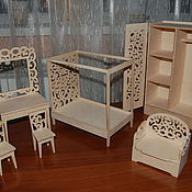 Куклы и игрушки handmade. Livemaster - original item Doll furniture for Barbie dolls and doll-daughter. Set 260. Handmade.