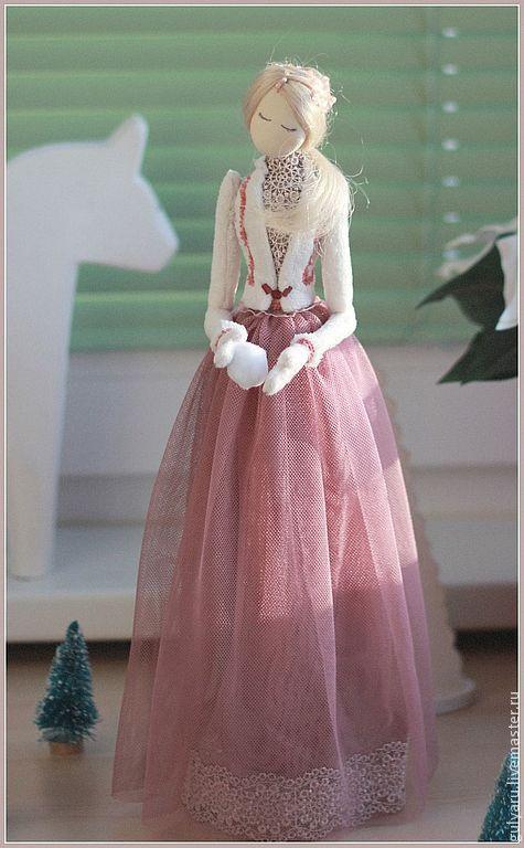 Ароматизированные куклы ручной работы. Ярмарка Мастеров - ручная работа. Купить Елизавета. Handmade. Белый, зима, нежность, романтика, барышня