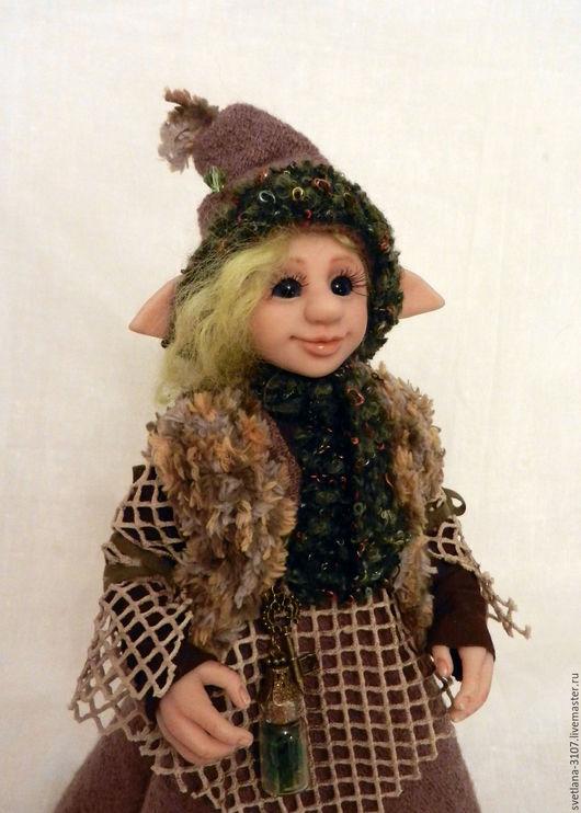 Коллекционные куклы ручной работы. Ярмарка Мастеров - ручная работа. Купить Эльфа Паулина. Handmade. Комбинированный, сказочный персонаж