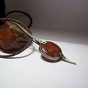 Украшения handmade. Livemaster - original item Agate pendant
