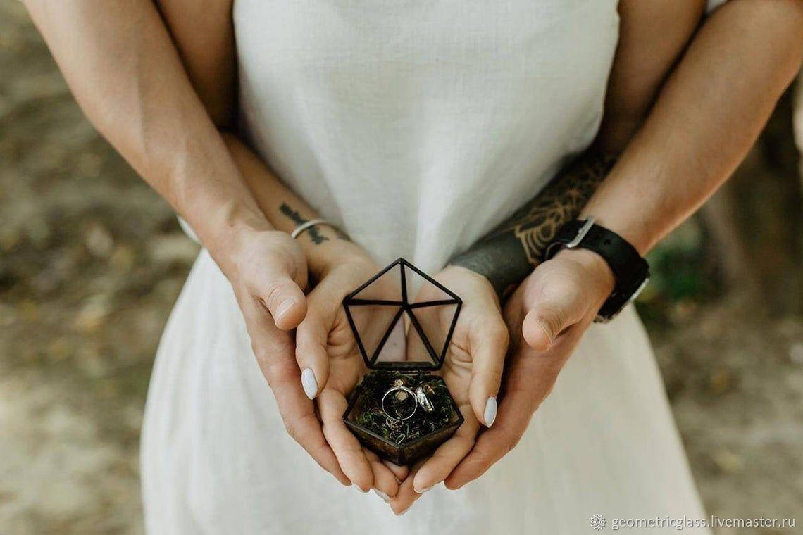 Wedding box for rings, Caskets for rings, Krasnodar,  Фото №1
