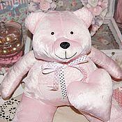 Куклы и игрушки ручной работы. Ярмарка Мастеров - ручная работа Мишка SWEETY с сердечком. Handmade.