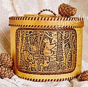 Для дома и интерьера handmade. Livemaster - original item Box for bread