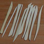 Глина ручной работы. Ярмарка Мастеров - ручная работа Инструменты для работы с глиной, материал-дерево.В комплекте 10 шт. Handmade.