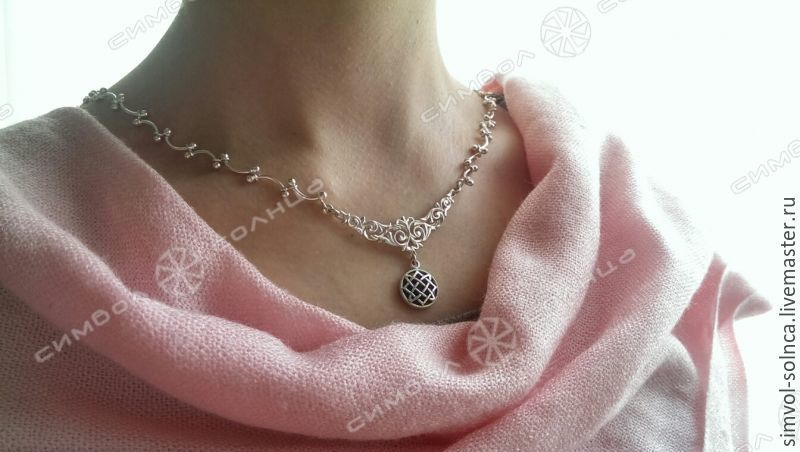 A chain with a talisman (necklace), Chain, Sochi,  Фото №1