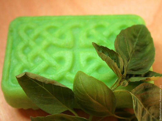 Мыло ручной работы. Ярмарка Мастеров - ручная работа. Купить -20% 'Удачная покупка! Мята' - натуральное мыло с нуля. Handmade.