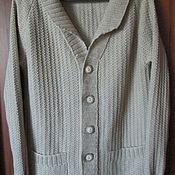"""Одежда ручной работы. Ярмарка Мастеров - ручная работа Вязаный мужской жакет """"Доктор Ватсон"""". Handmade."""