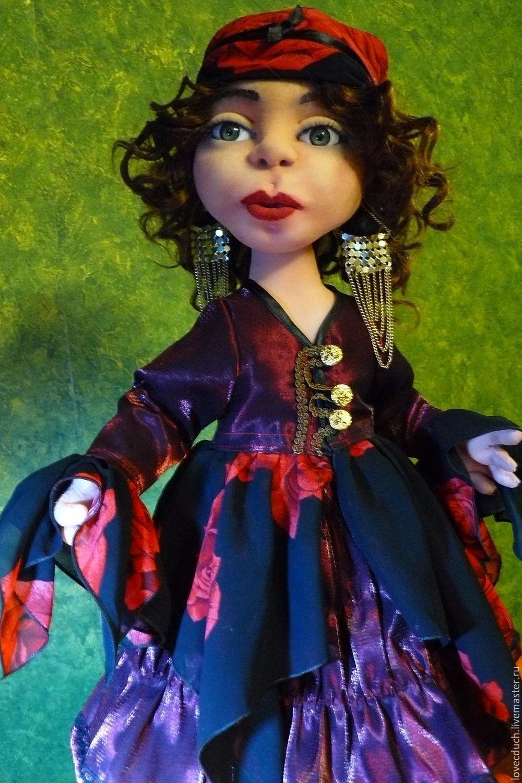 Авторская кукла ручной работы. Цыганка Станка рост 52 см, Куклы, Волгоград, Фото №1