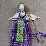 """Куклы и игрушки ручной работы. Ярмарка Мастеров - ручная работа Кукла Манилка """"Девушка в лиловом"""". Handmade."""