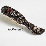 Субкультуры handmade. Livemaster - original item Comb Gothic: love is forever!. Handmade.