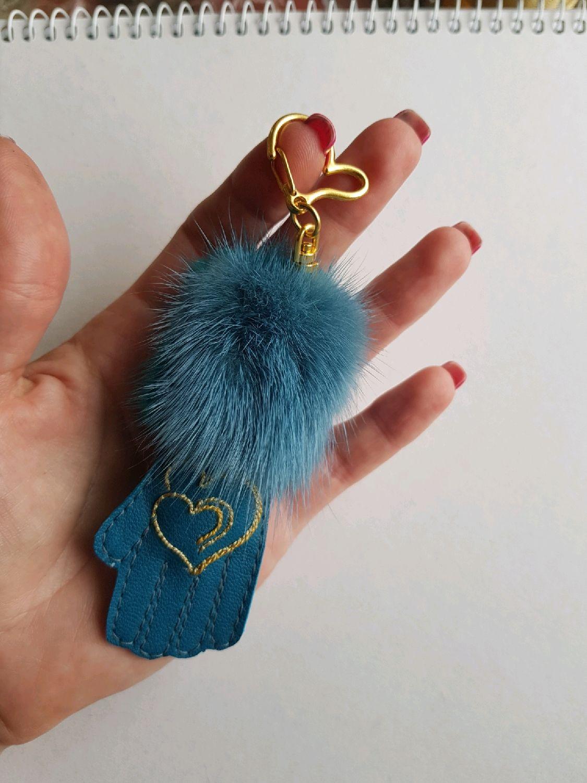 Брелок-перчатка с норкой, Брелок, Торжок,  Фото №1