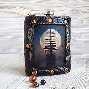Сувениры и подарки handmade. Livemaster - original item Flask Frigate. Handmade.