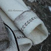 Одежда ручной работы. Ярмарка Мастеров - ручная работа Cup Moss. Ягель. Пальто.. Handmade.