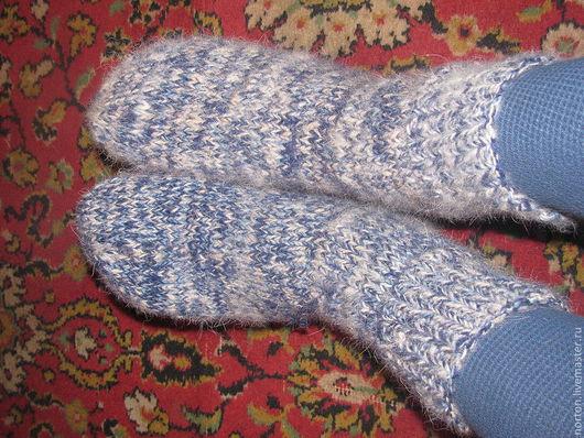 Носки, Чулки ручной работы. Ярмарка Мастеров - ручная работа. Купить мужские носки из собачьей шерсти. Handmade. носки вязанные
