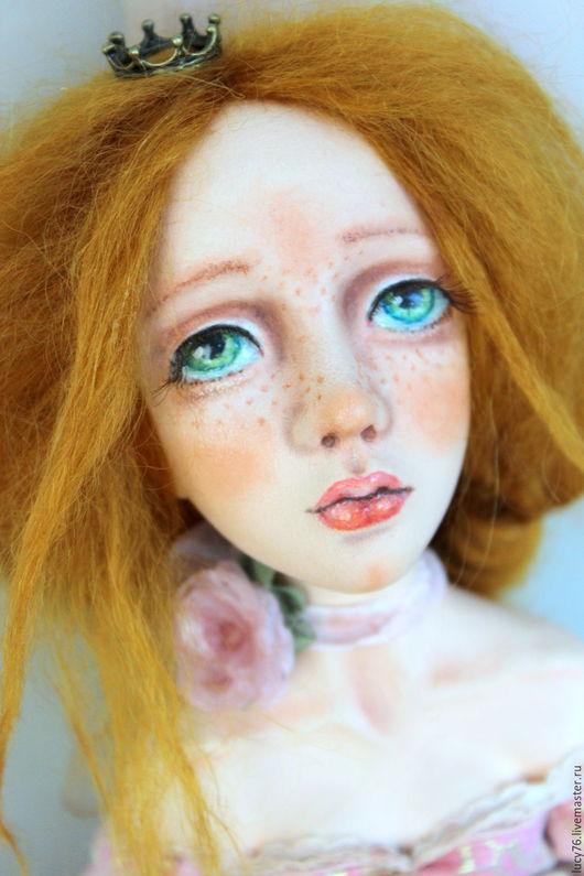 Коллекционные куклы ручной работы. Ярмарка Мастеров - ручная работа. Купить Sofi принцесса на горошине. Handmade. Бледно-розовый