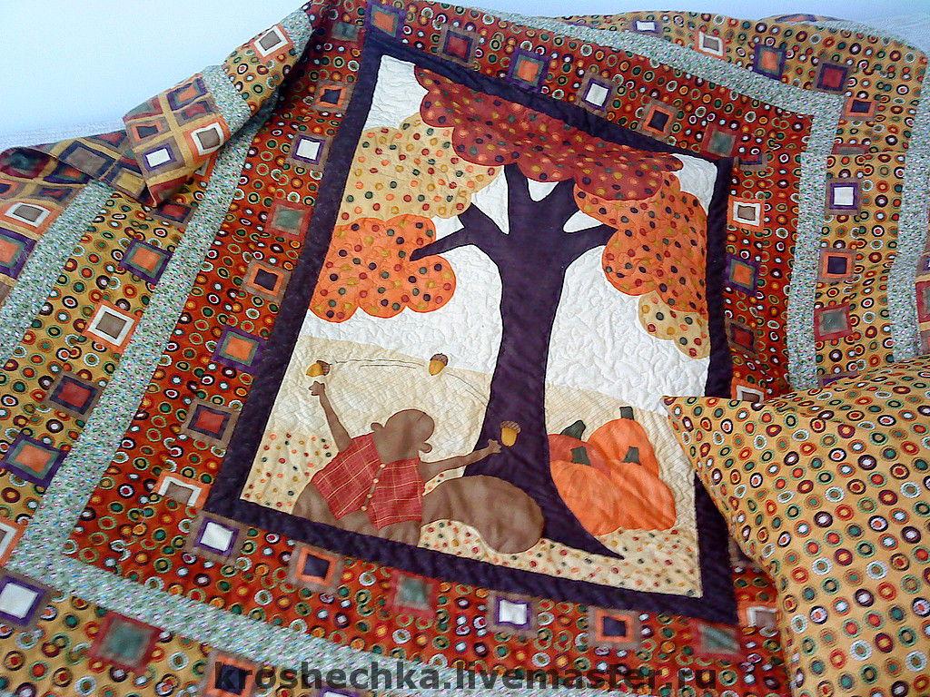 Quilt (duvet + pillow) 'Forest tale', Baby blanket, Ekaterinburg,  Фото №1