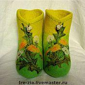"""Обувь ручной работы. Ярмарка Мастеров - ручная работа Валеночки """"Солнца яркого глоток"""". Handmade."""