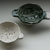 Посуда ручной работы. Ярмарка Мастеров - ручная работа Пиалки Маленькие с дырками. Handmade.