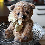 """Мягкие игрушки ручной работы. Ярмарка Мастеров - ручная работа Вязаный медвежонок """"Тимоша"""". Handmade."""